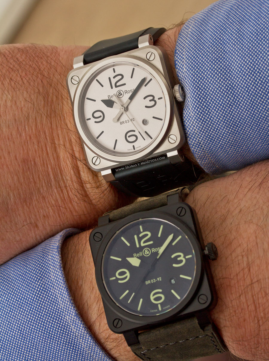 Bell & Ross Nightlum y Horoblack