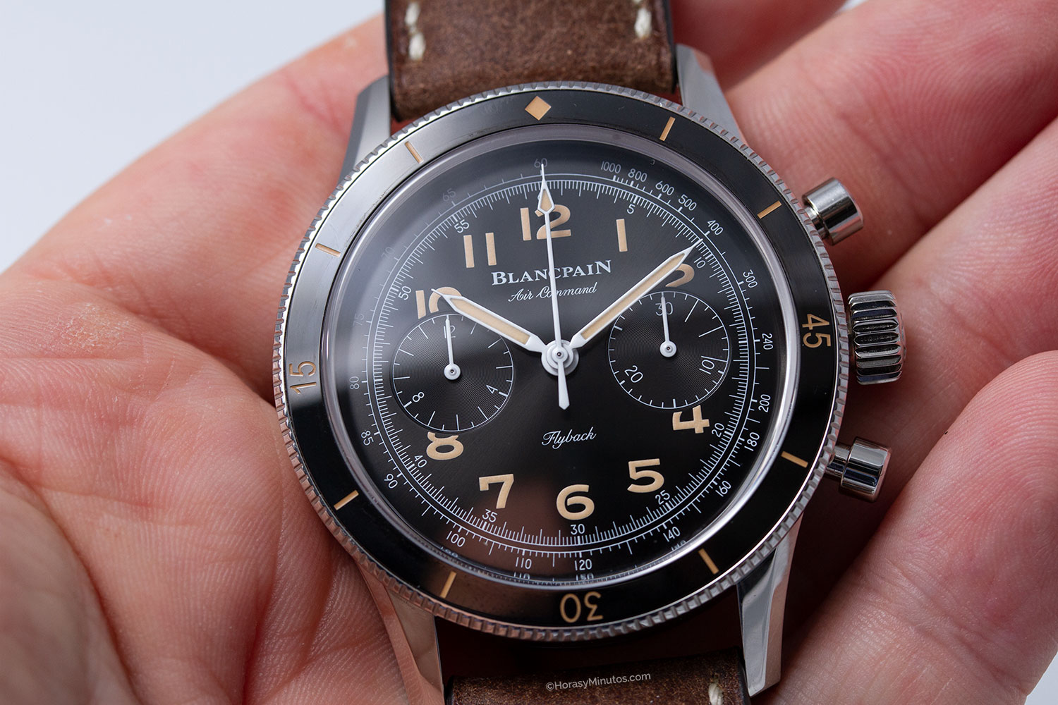 Esfera del Blancpain Air Command