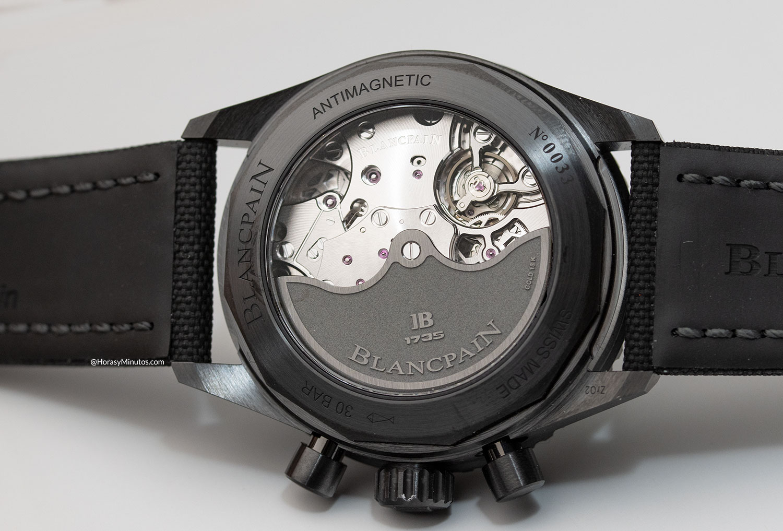 Calibre F385 del Blancpain Bathyscaphe Chronograph Flyback