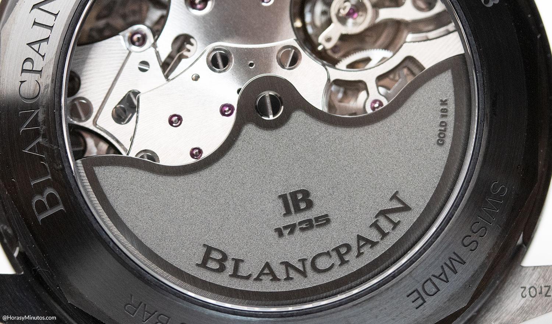 Rotor del calibre F385 del Blancpain Bathyscaphe Chronograph Flyback