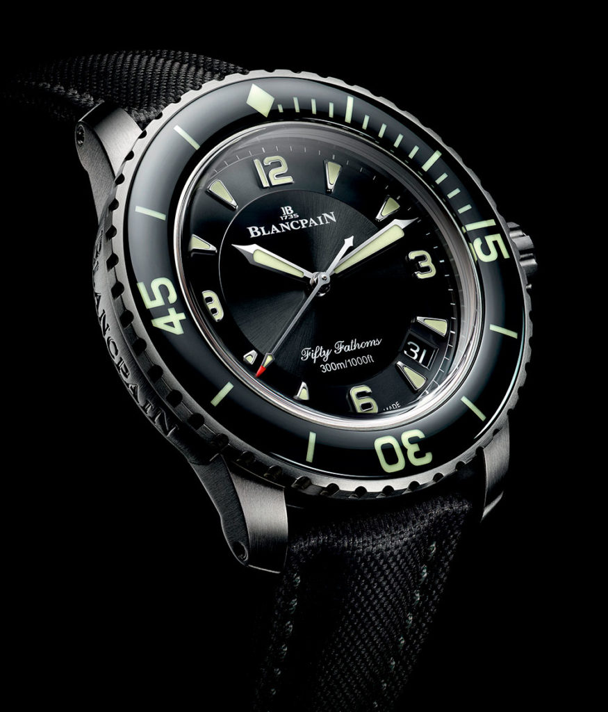 Blancpain Fifty Fathoms Automatic Titanio