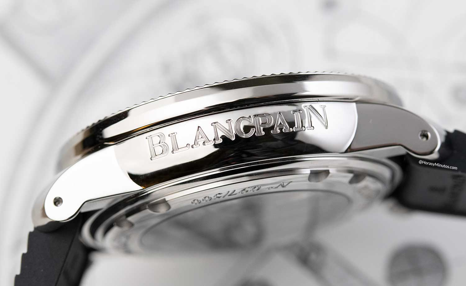 Lateral del Blancpain Tribute to Fifty Fathoms No Rad