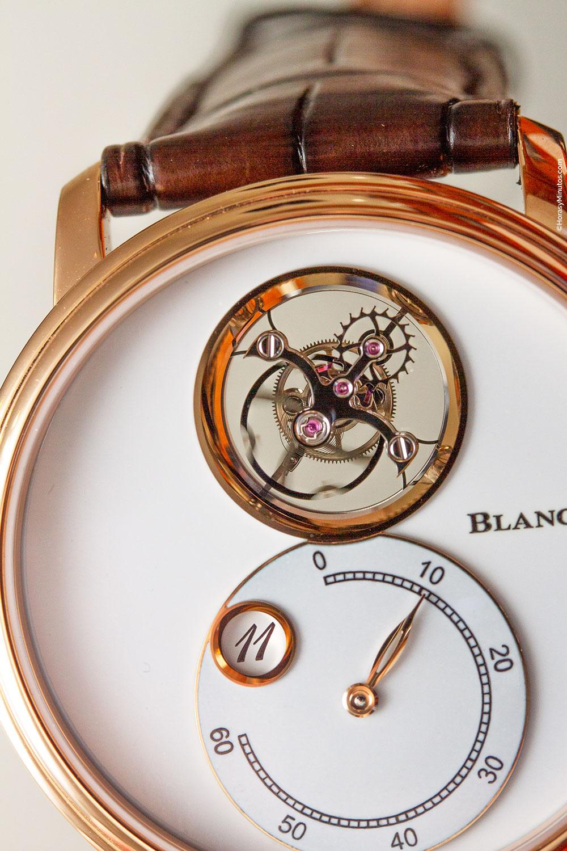 Blancpain Villeret Tourbillon Volant Heure Sautante Minute Rétrograde