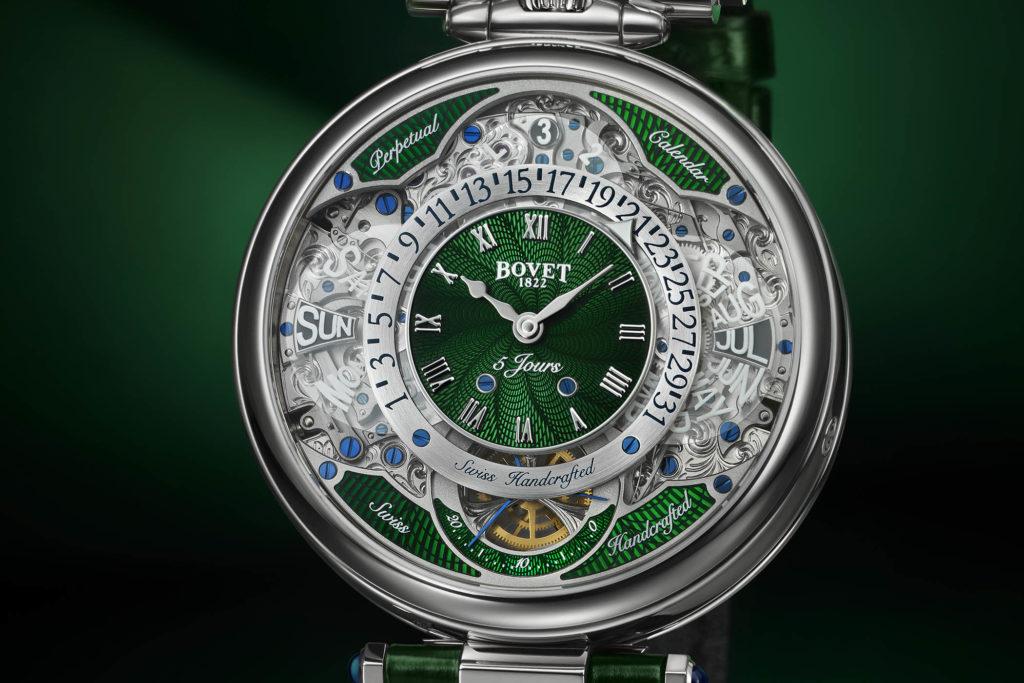 Esfera del Bovet Virtuoso VII verde