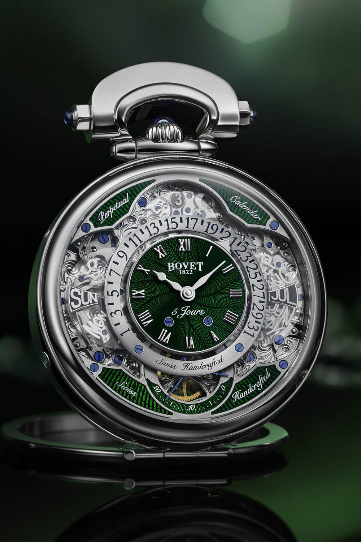 El Bovet Virtuoso VII, como reloj de mesa