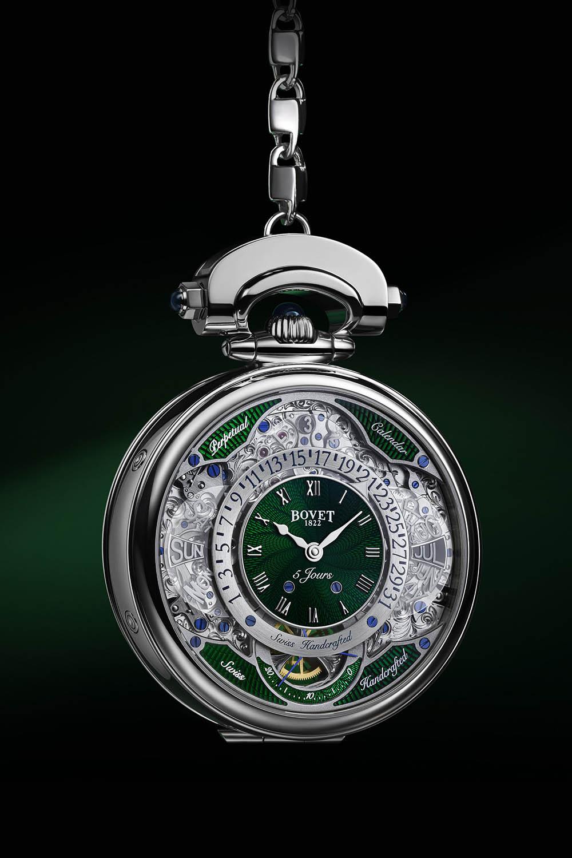 El Bovet Virtuoso VII como reloj de bolsillo