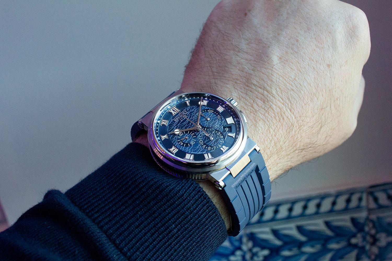 Perfil del Breguet La Marine Chronographe