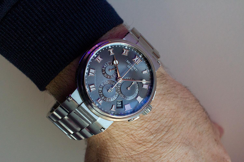 Así queda el Breguet La Marine Chronographe en titanio