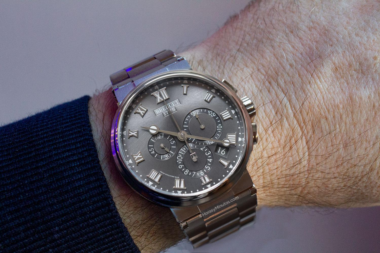 El Breguet La Marine Chronographe en titanio