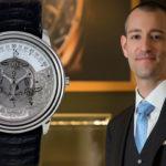Brian Lavio, nuevo General Manager de Audemars Piguet Iberia, lleva un reloj histórico