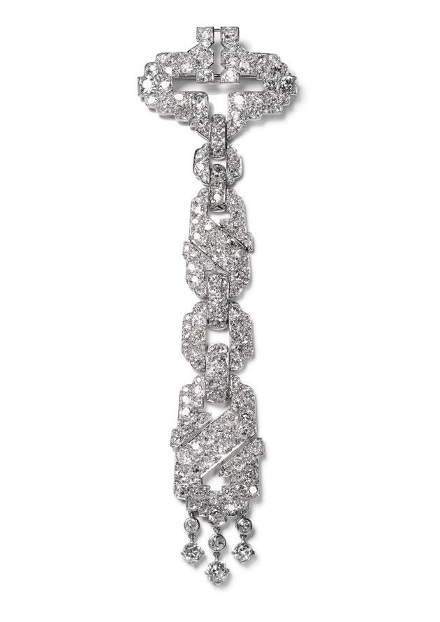 Broche Cartier New York, pedido especial, 1928 - Colección Elton John