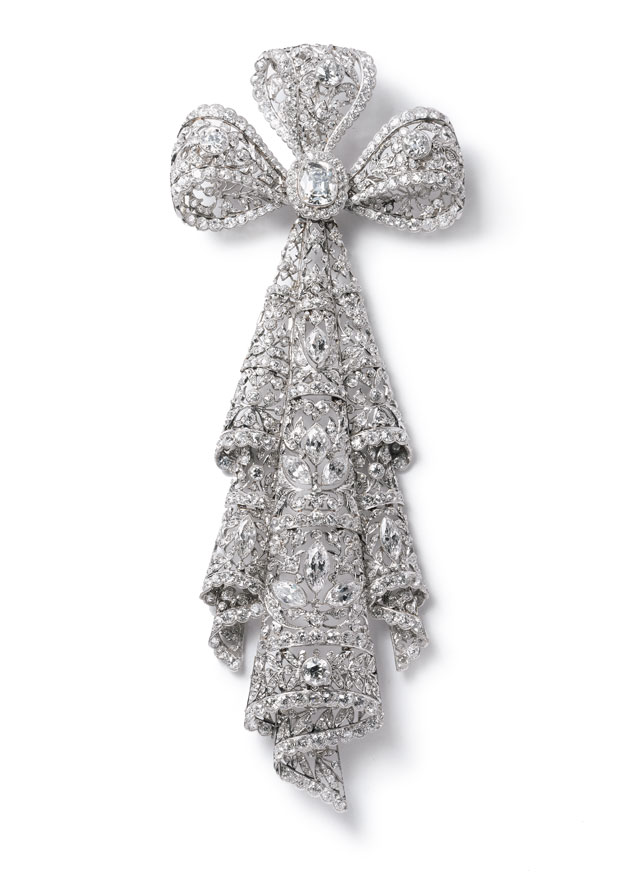 Broche Lazo encaje Cartier Paris, 1906 - Sir Ernest Cassel