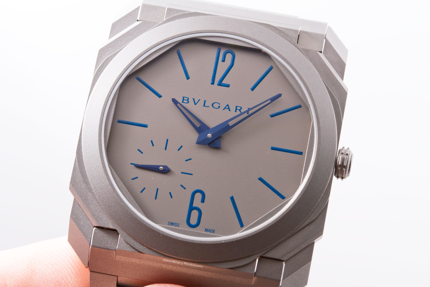 Bulgari Octo Finissimo Automatic Sandblasted