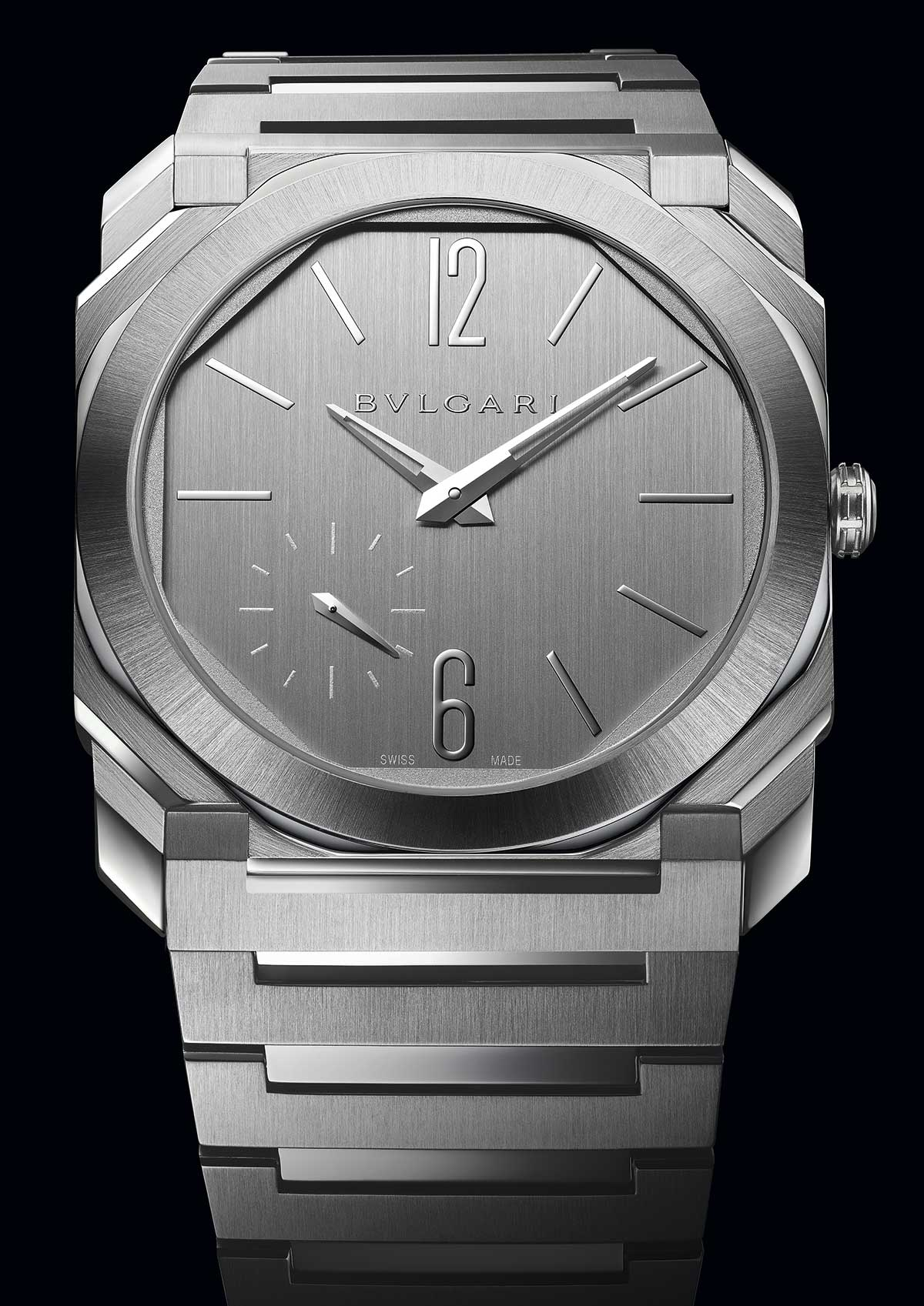 Bvlgari Octo Finissimo S Steel Silvered Dial