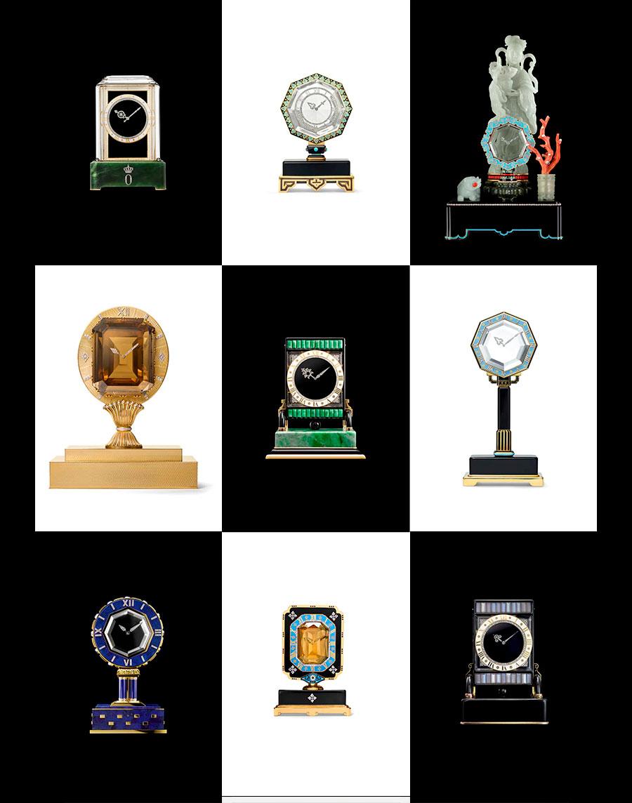 Relojes misteriosos de Cartier