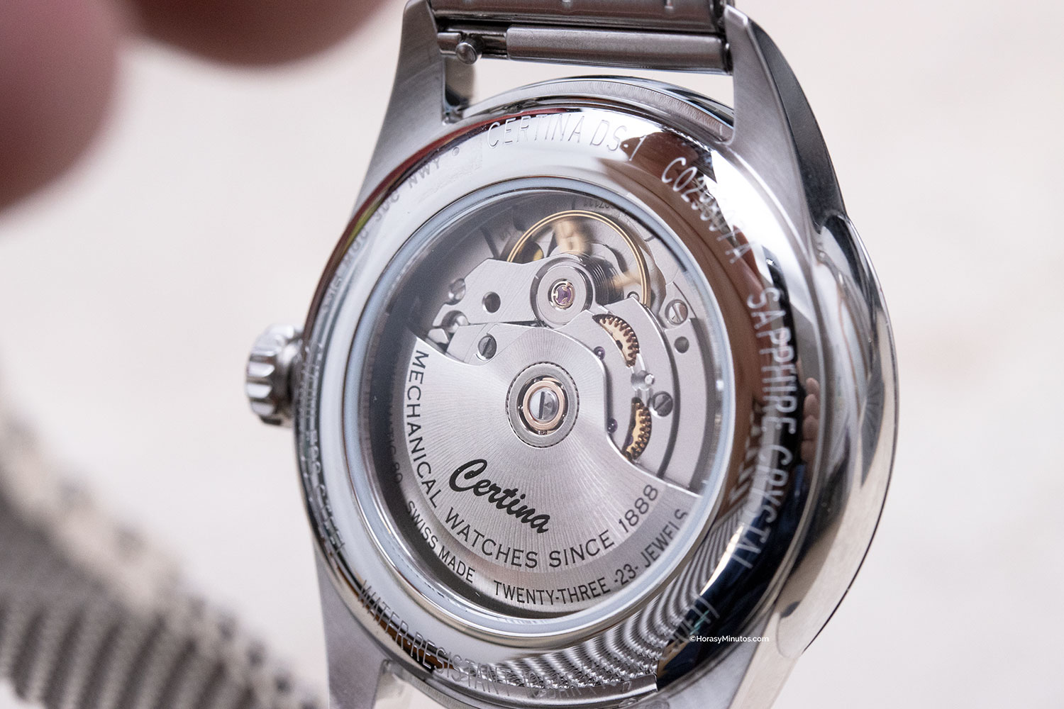Calibre Powermatic 80 del Certina DS-1 Powermatic 80 Special Edition