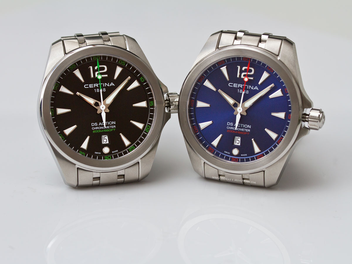 Minutos Y ChronometerHoras Calidad Action PrecioCertina Ds F13KTlJc