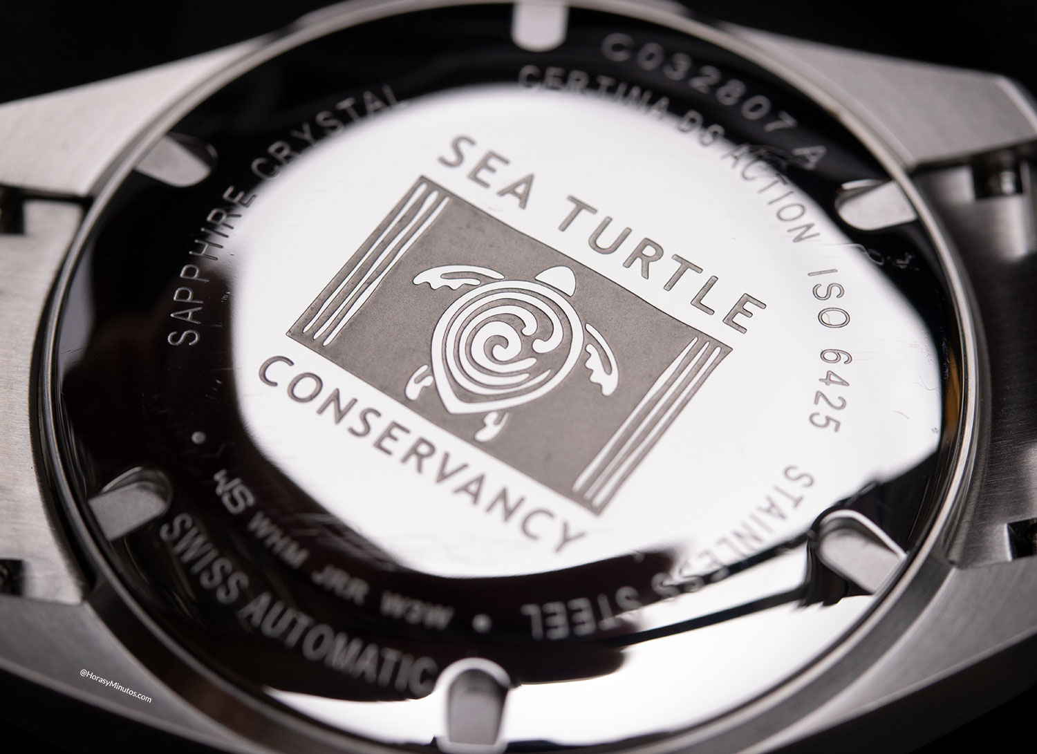 Trasera Certina DS Action Diver 38 mm Sea Turtle Conservancy
