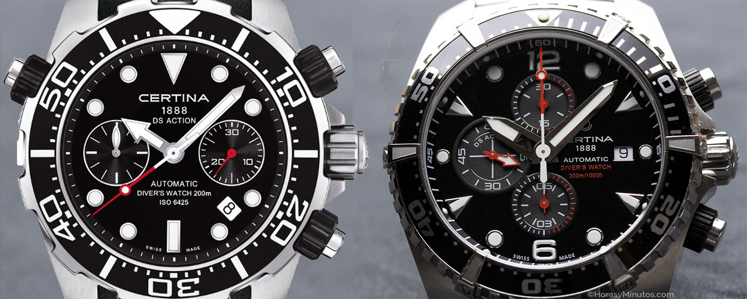 Certina DS Action Diver Chrongraph 2012 y 2020