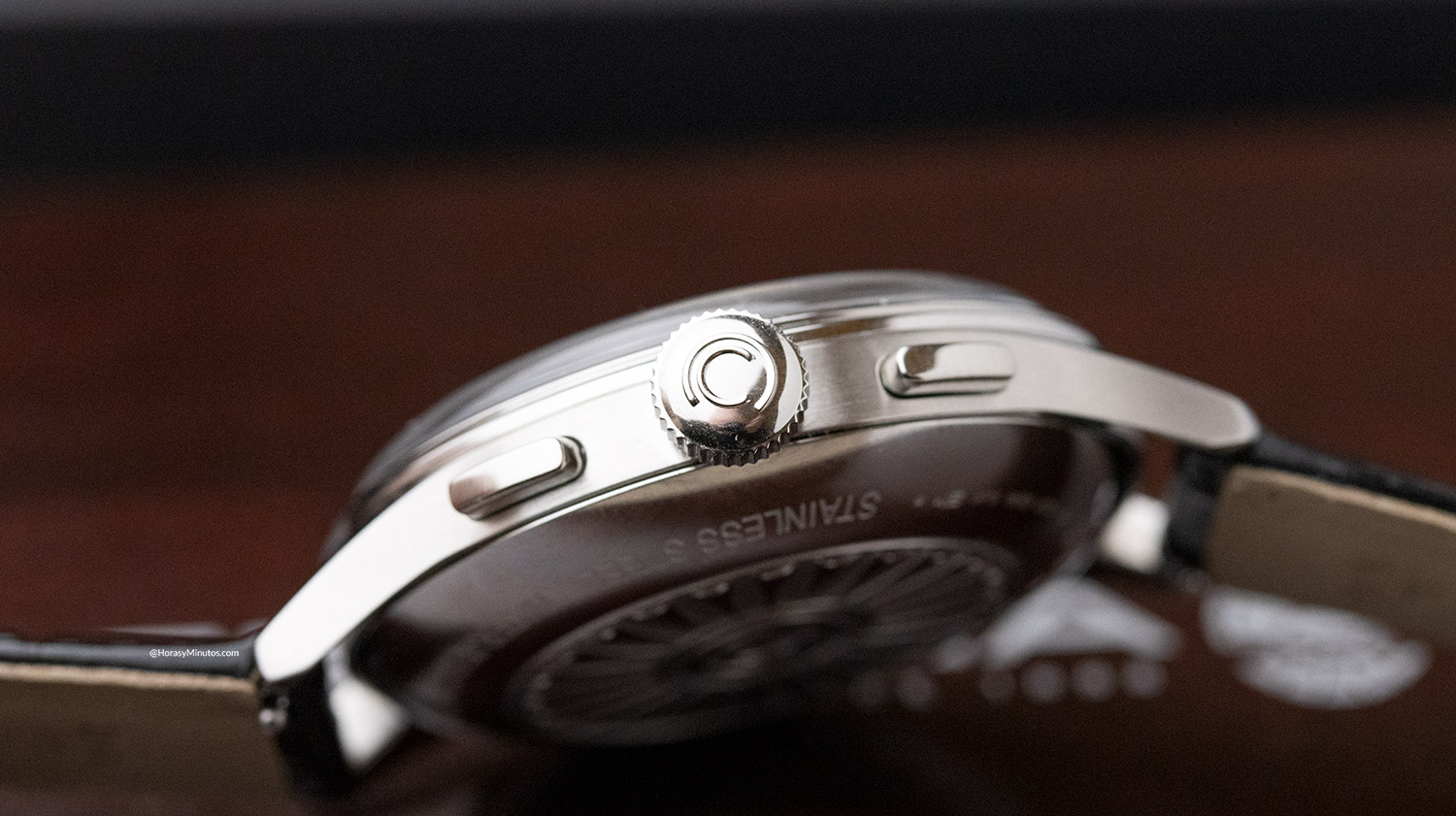 Lateral del Certina DS Chronograph Automatic