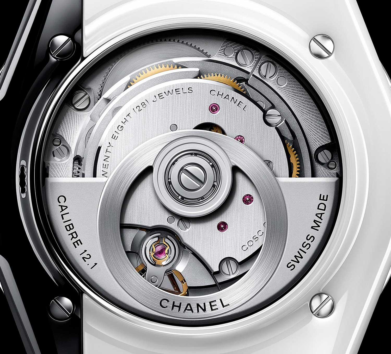 Calibre 12.1 de los Chanel J12 Paradox