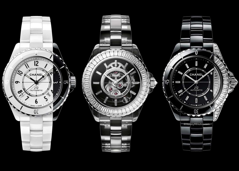 Los tres nuevos Chanel J12