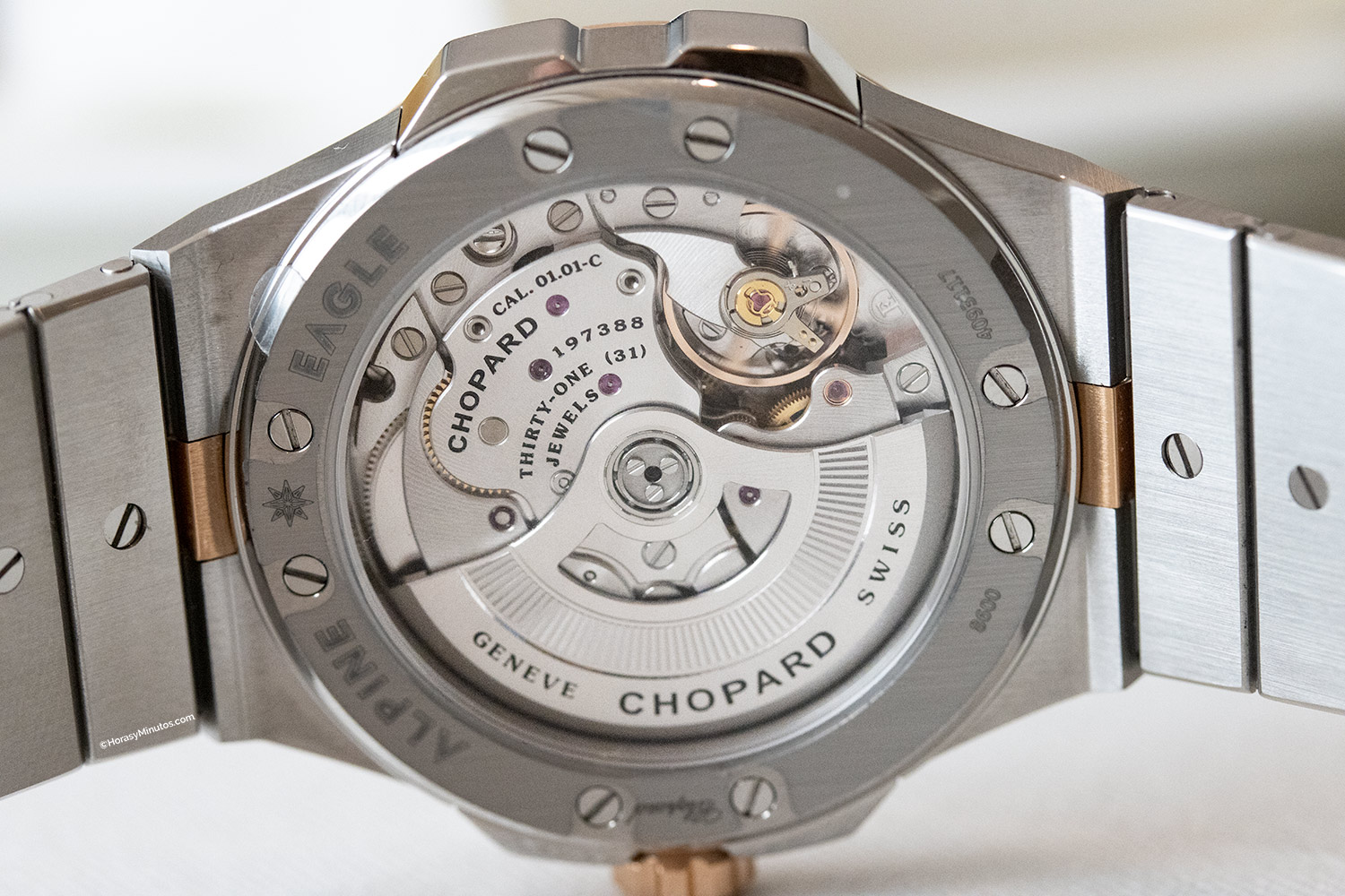 Calibre 01.01-C del Chopard Alpine Eagle