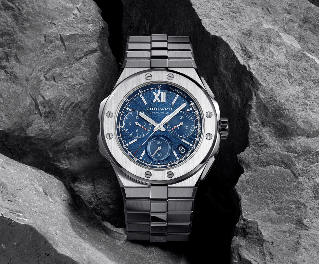 El Chopard Alpine Eagle XL Chrono azul