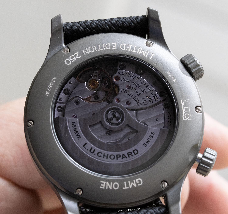 Calibre del Chopard L.U.C GMT One Black