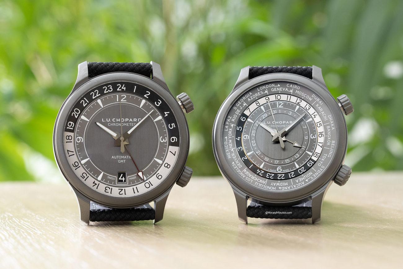 Chopard L.U.C GMT One Black y L.U.C Time Traveller One Black