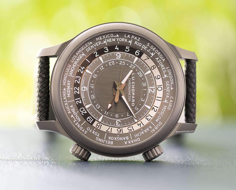 Esfera del Chopard L.U.C Time Traveller One Black
