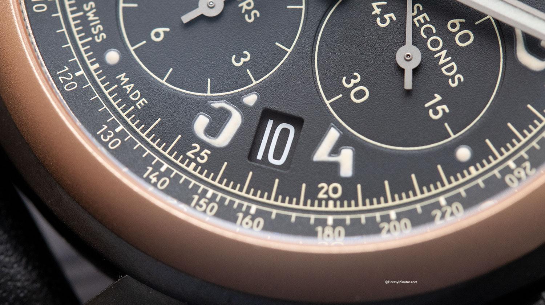 Detalle de fecha del Chopard Mille Miglia 2020 Race Edition