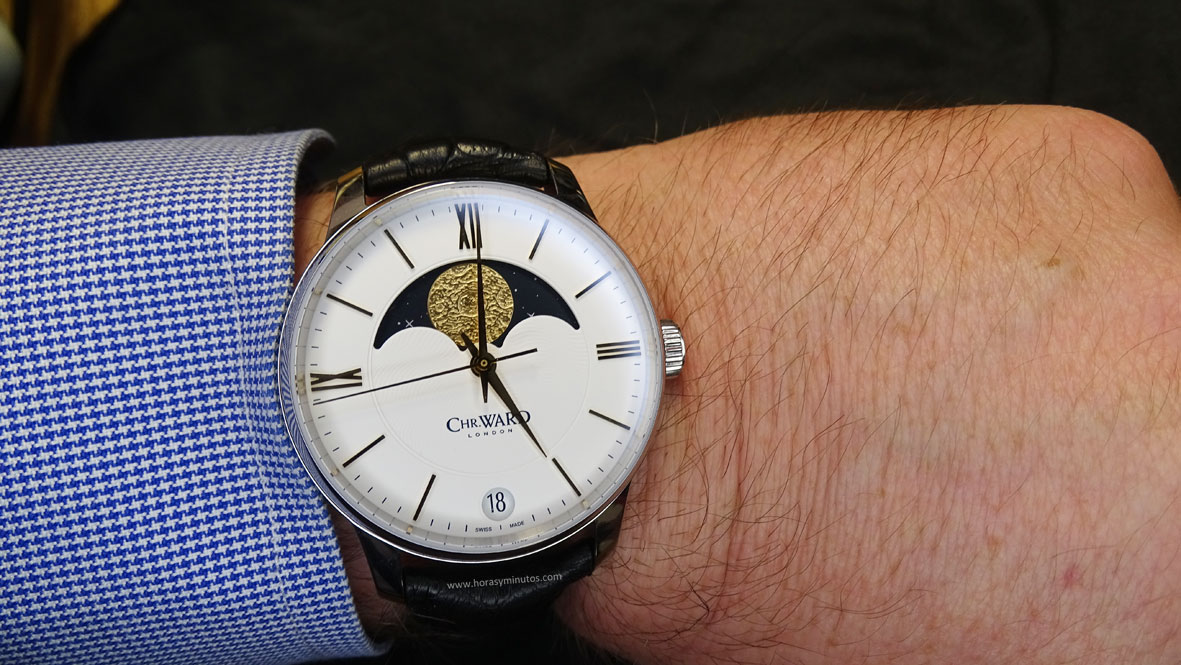Christopher Ward C9 Moonphase Salon QP