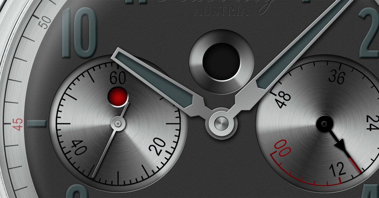Indicación top seconds del CronotempVs Endurance by Habring²