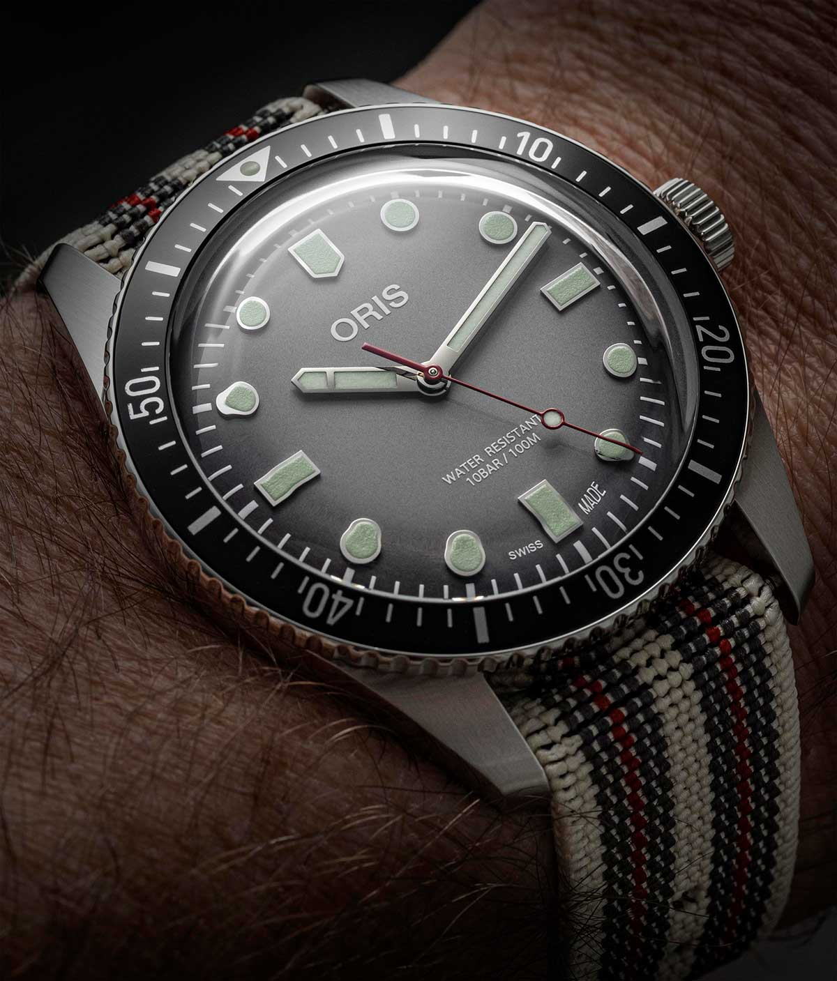 El Cronotempvs Spirit of Sixty-Five by Oris con una NATO