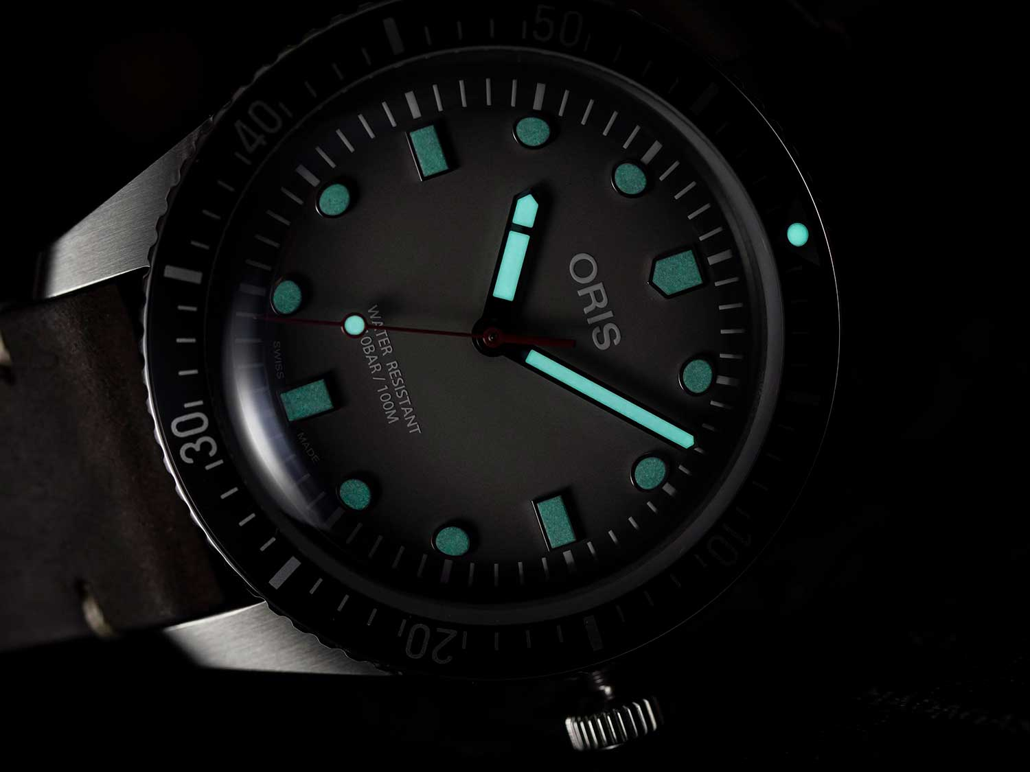 Tratamiento con Super-LumiNova del Cronotempvs Spirit of Sixty-Five by Oris