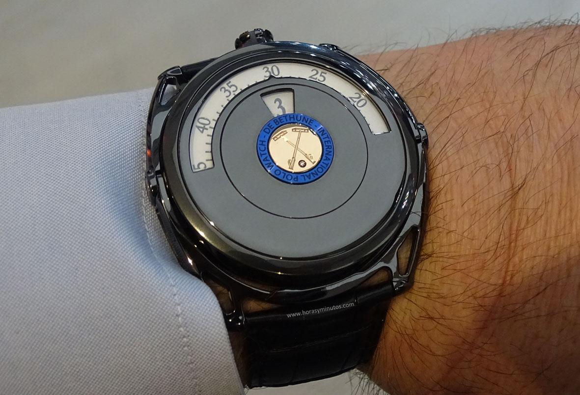 De Bethune DB27 Digitale Polo Edition Salon QP