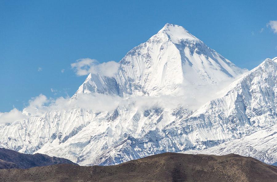 El monte Dhaulagiri