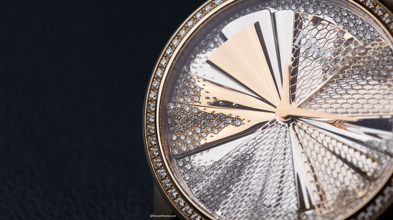 Los diamantes del Dior Grand Soir Plissé Précieux