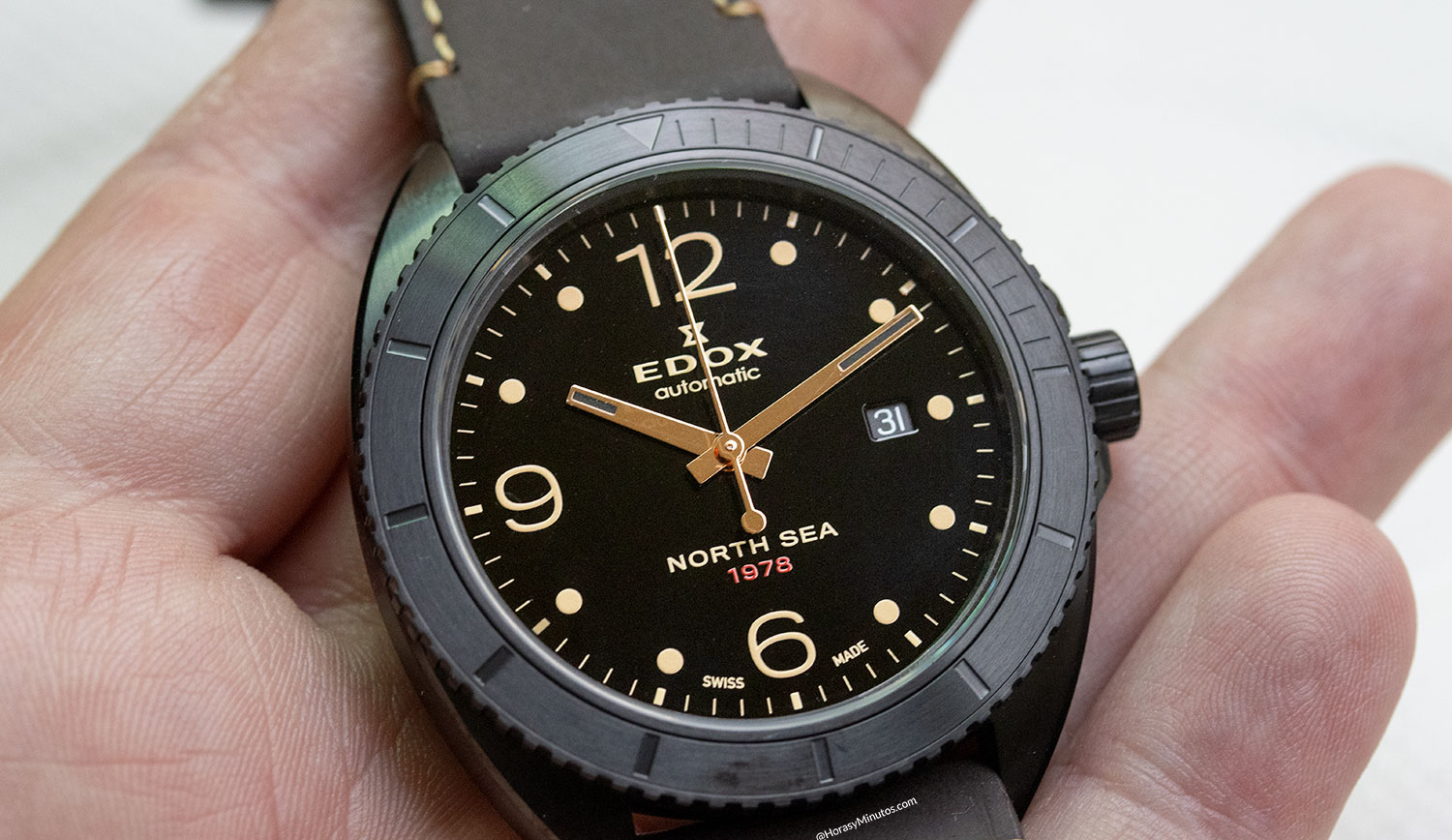 Esfera del Edox North Sea 1978