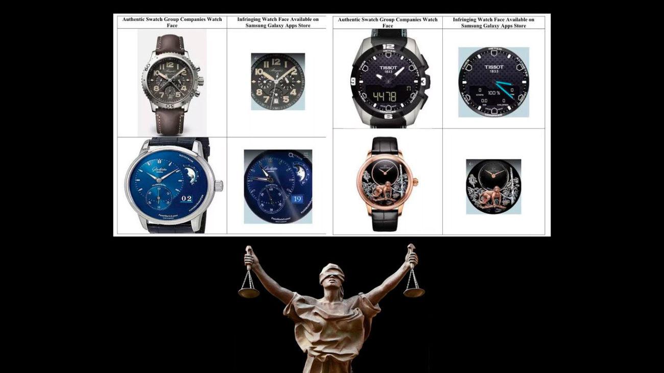 El Grupo Swatch denuncia a Samsung