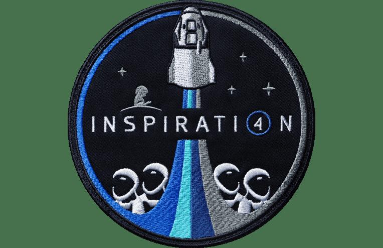 Emblema de tela de Inspiration4