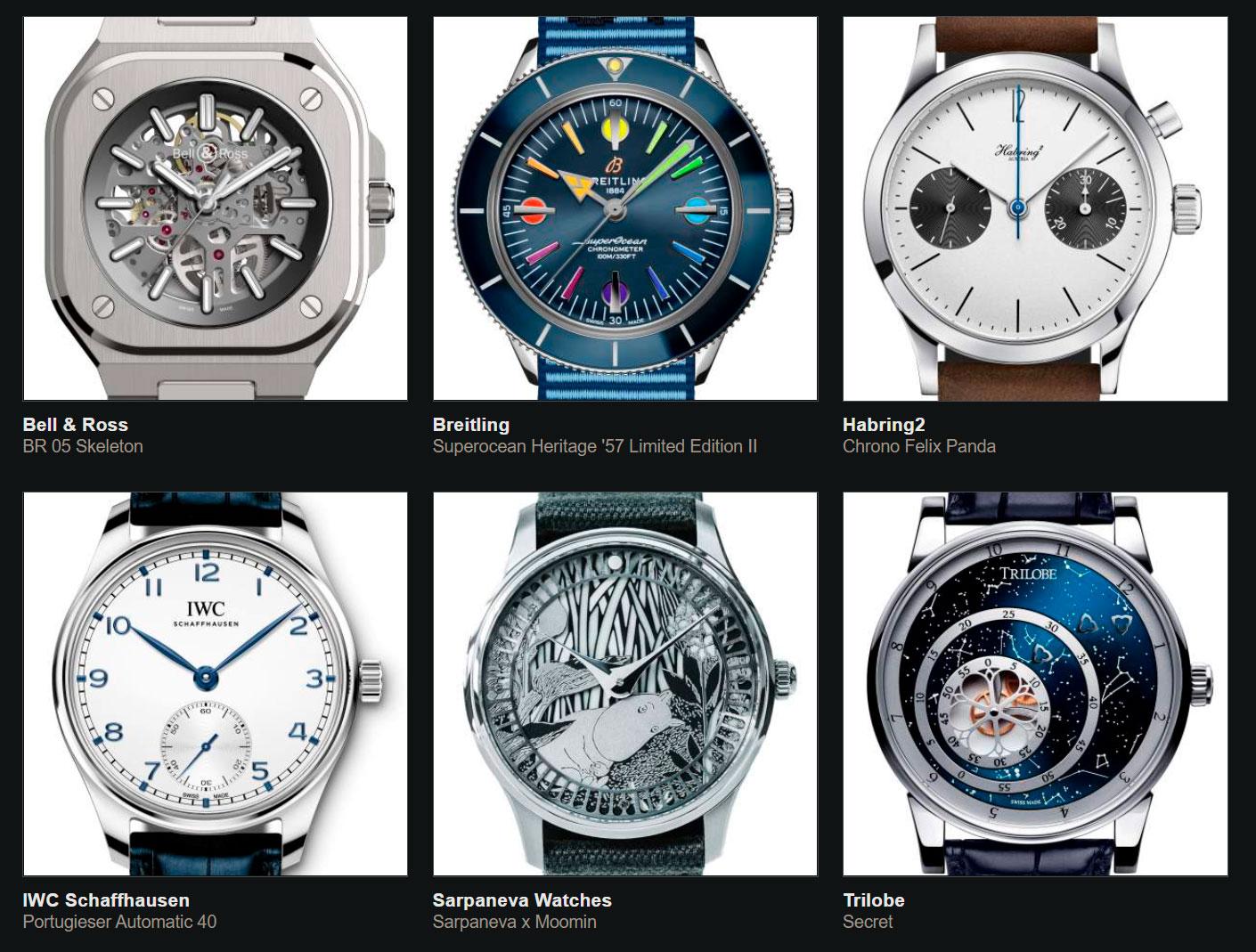 Finalistas del Gran Premio de Relojería de Ginebra 2020 Petit Aiguille