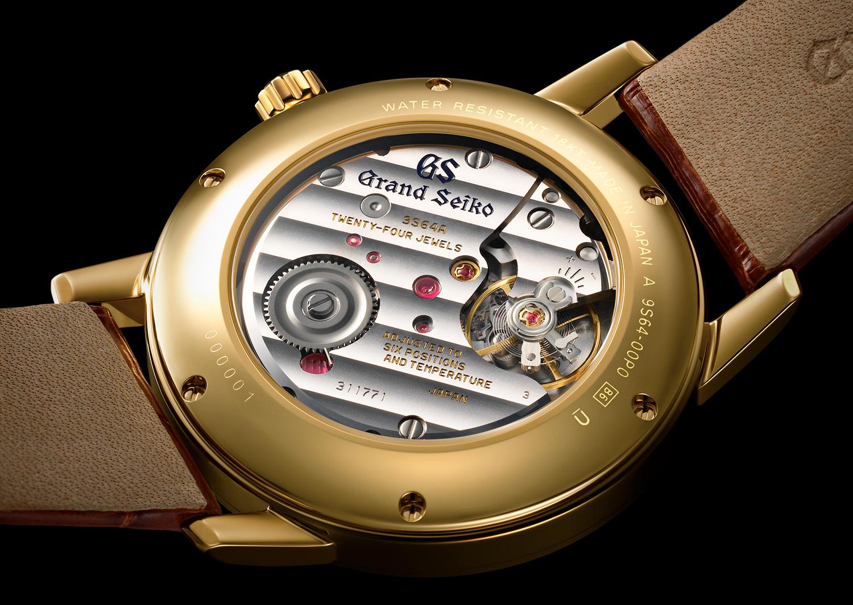 calibre 9S64A de los First Grand Seiko 1960 60 Aniversario SBGW257 SBGW258 SBGW259