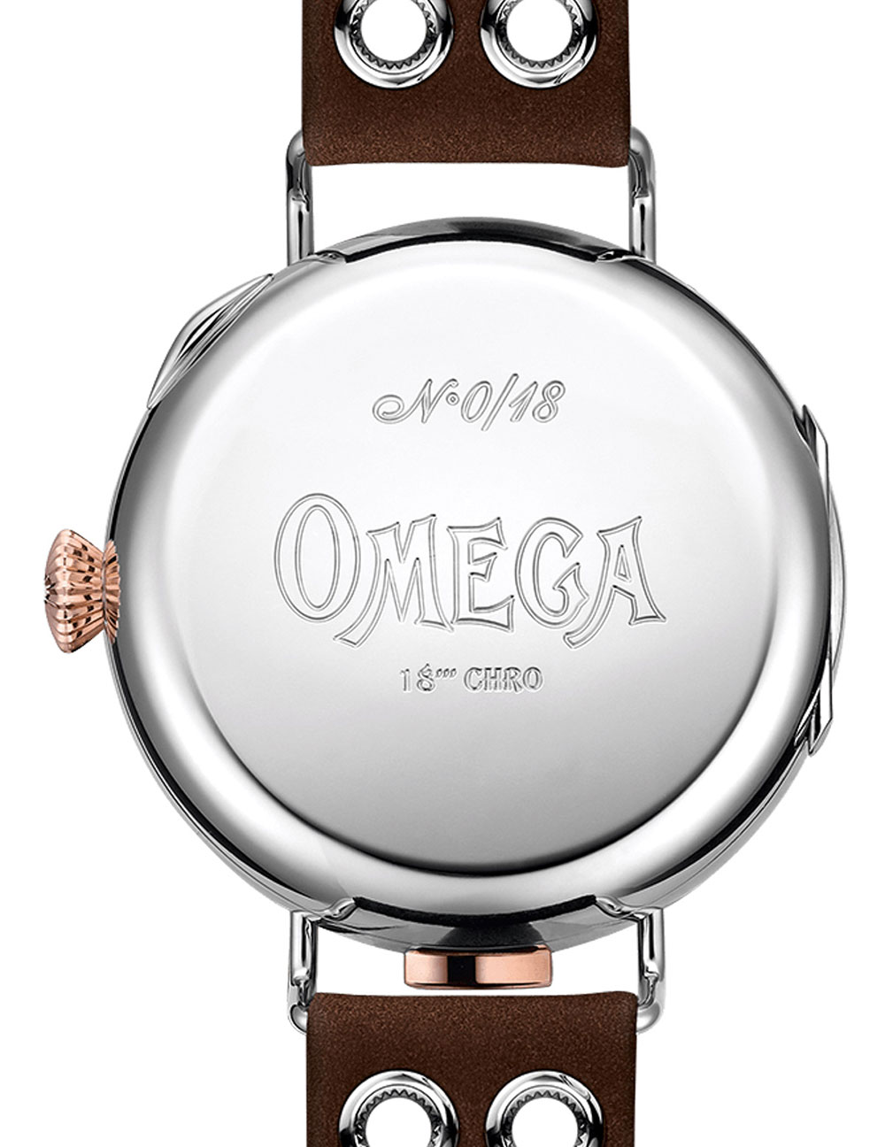 First OMEGA Wrist-Chronograph Limited Edition
