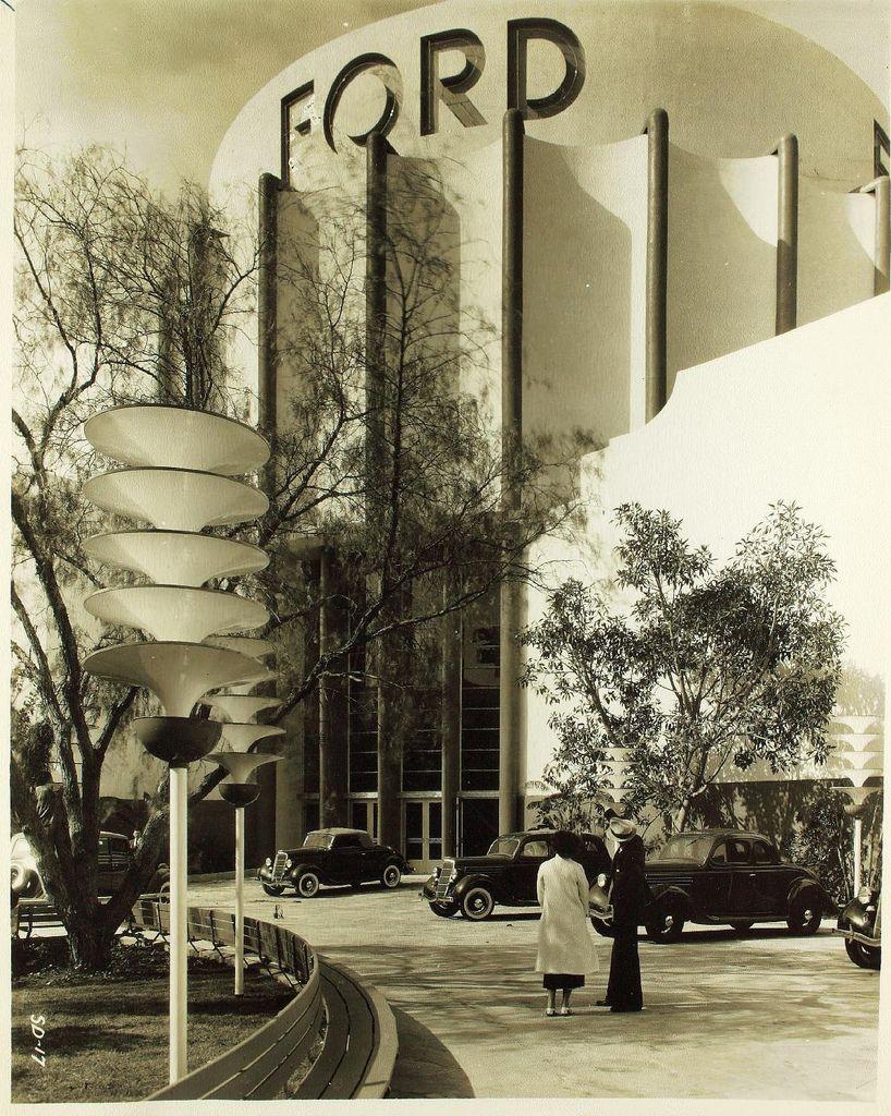 El edificio Ford de 1939, de inspiración Art Déco