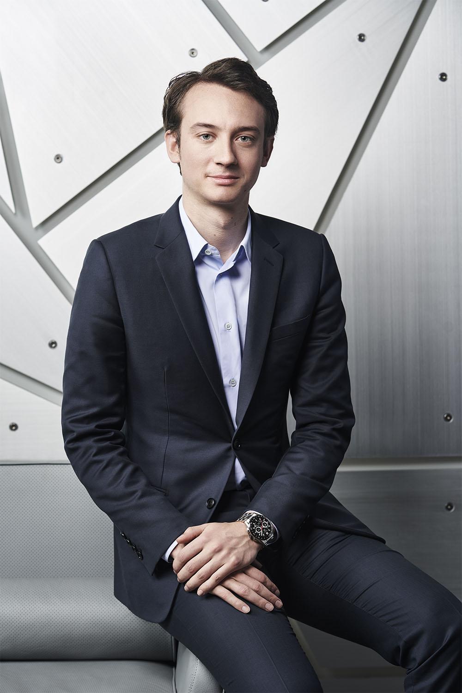 Frédéric Arnault, Director de Estrategia y Desarrollo Digital de TAG Heuer