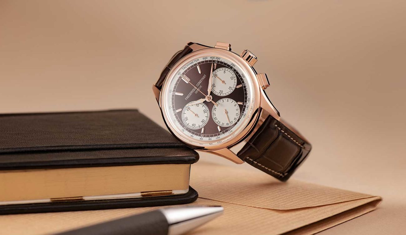 Frederique Constant Flyback Chronograph Manufacture portada