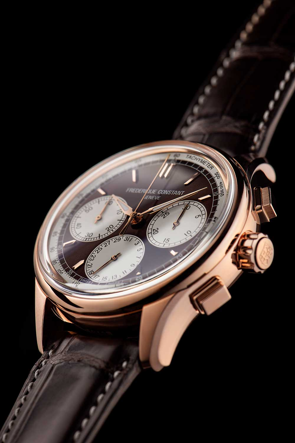 perfil del Frederique Constant Flyback Chronograph Manufacture