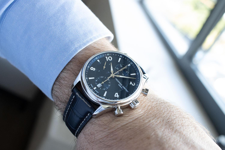 El Frederique Constant Runabout Chronograph, puesto